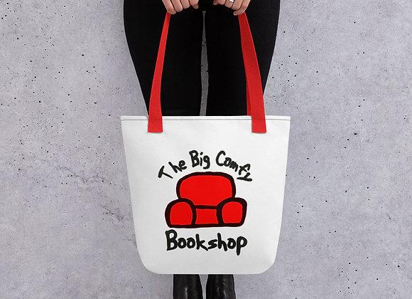 The Big Comfy Bookshop Tote bag