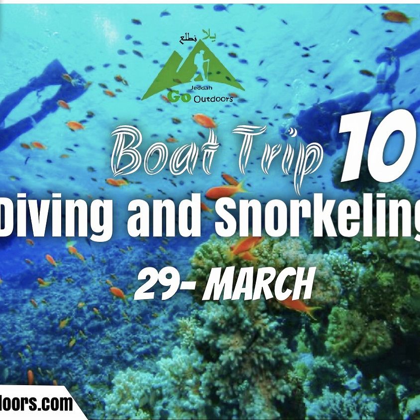 Boat Trip #10 ( Diving & Snorkeling)  for family only