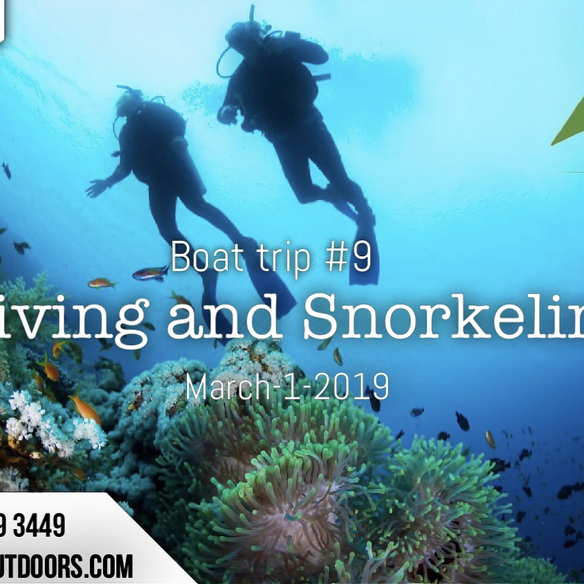 Boat Trip #9 ( Diving & Snorkeling)  for family only  (1)