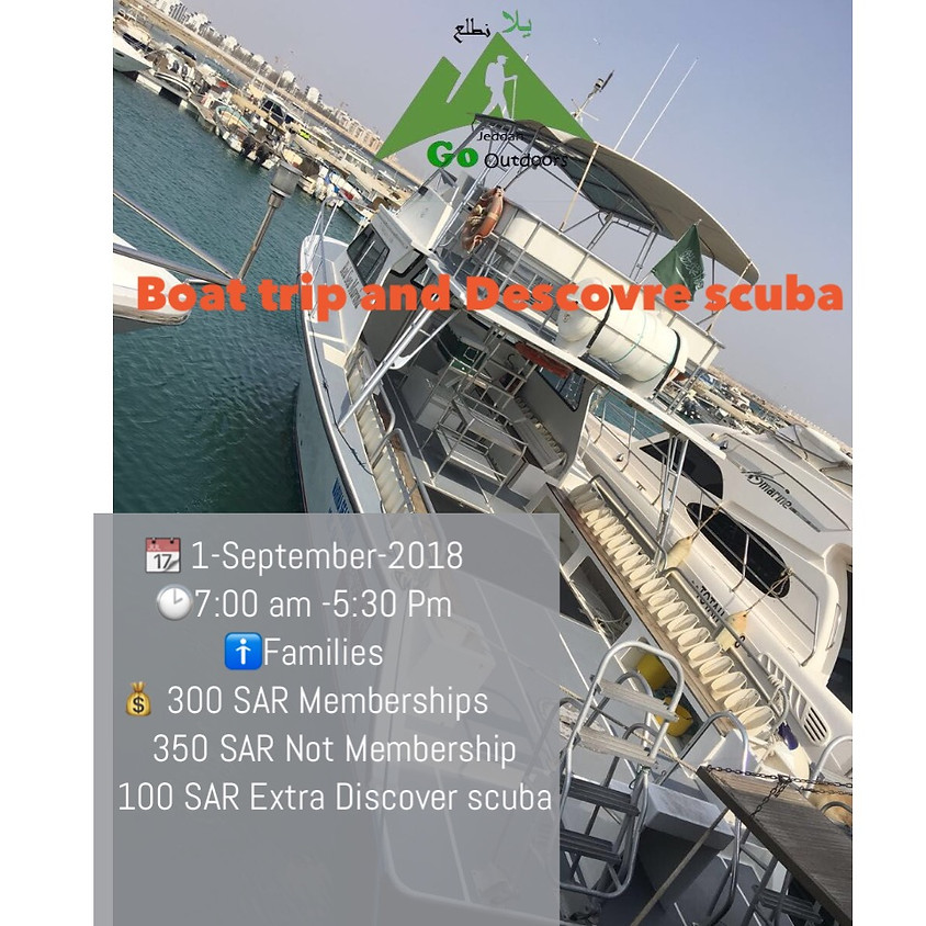 Boat Trip and Discover scuba diving