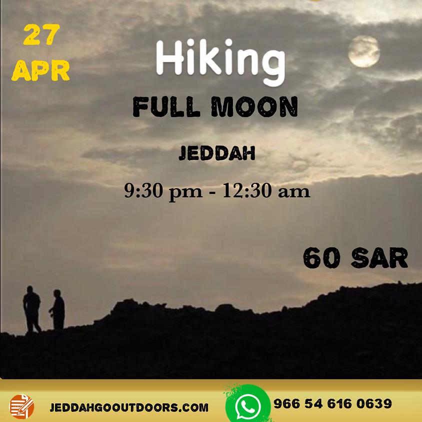 full moon Hiking