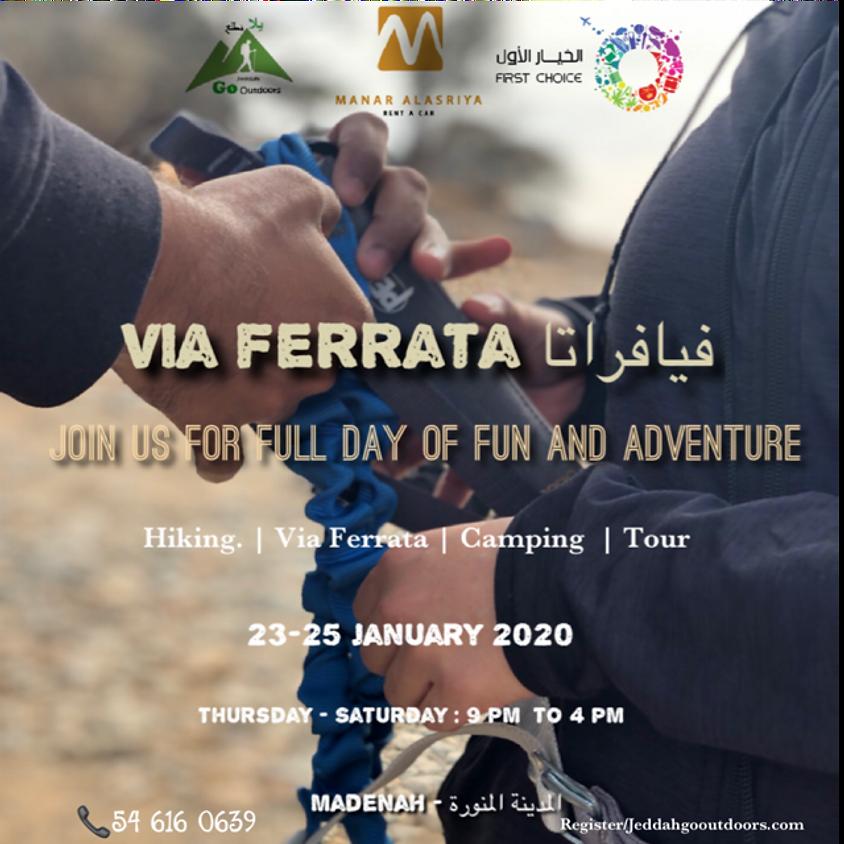 Via Ferrata and hiking and Tour