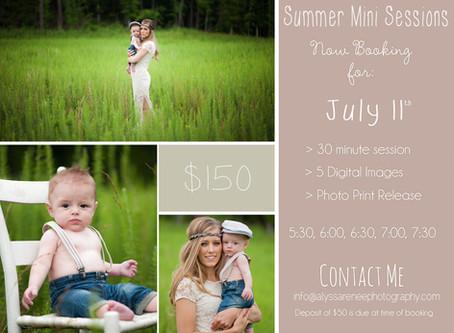 Summer Minis