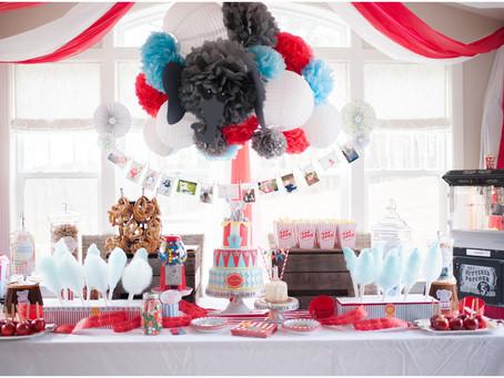 Cohen's Big Top Tent 1st Birthday Extravaganza!