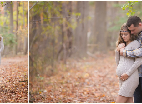 My Maternity Session + Maternity Leave
