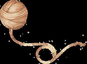 Drawing of Wool Yarn