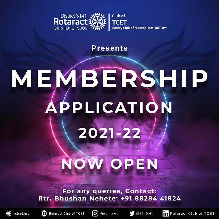 Membership Drive 2021-2022