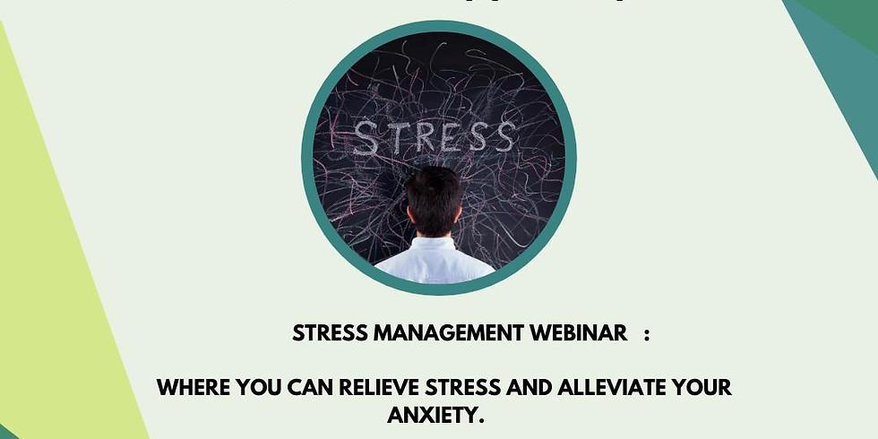 Stress Management Webinar
