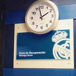 Массажная зона Fc Real Madrid