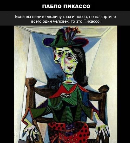 Как узнать художника по его картине :o)