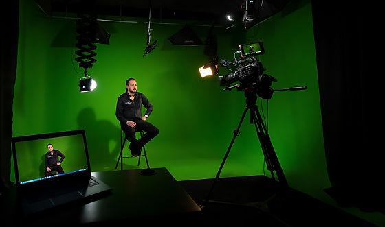 Video green screen shooting