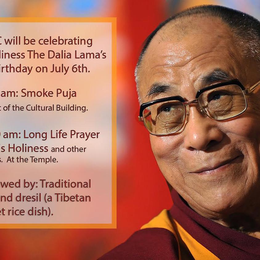 His Holiness The Dalai Lama's 83rd Birthday Celebration
