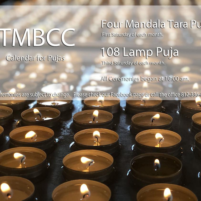 108 Lamp Puja