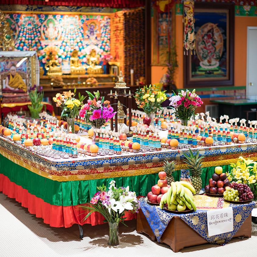 Guru Tsok Puja
