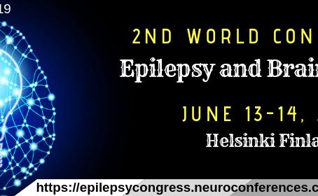 Epilepsy & Brain Disorders Conference 2019... 2nd world congress: Helsinki June 13-14