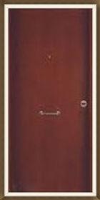 Πόρτα ασφαλείας καρυδιά χωρίς σχέδιο Κωδικός : Α5 Τιμή: 330€