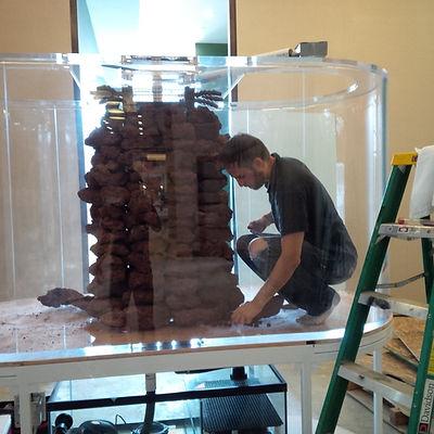 Double bull nose acrylic aquarium toronto