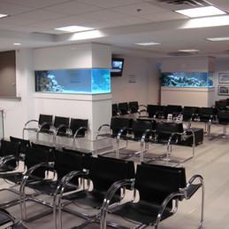 Office Waiting Room Aquariums