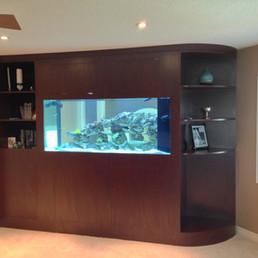 Bedroom Wall Reef Tank