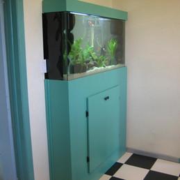 Custom Aquarium with Custom Cabinets