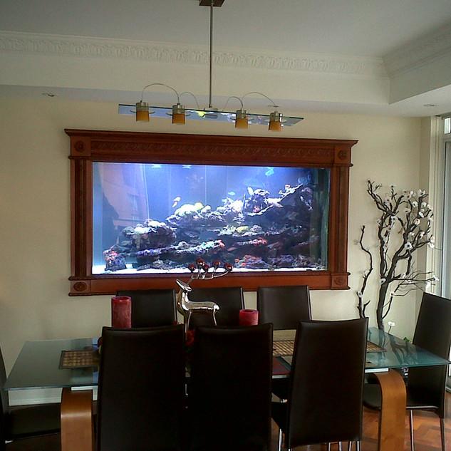 Large Custom Acrylic Reef Fish Tank