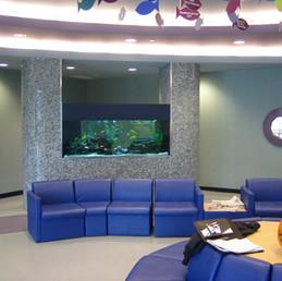 Custom Tiled Aquarium Finishes