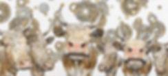Telemarkskuer og bunadsølv fra Telemark sammen i kunsten