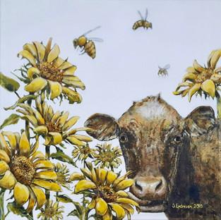 Bedre med blomster enn bier