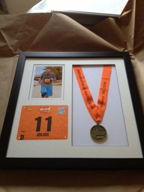 Marathon Award Framing