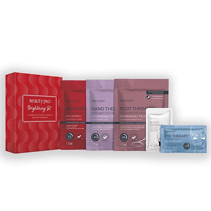 Brightening mask set