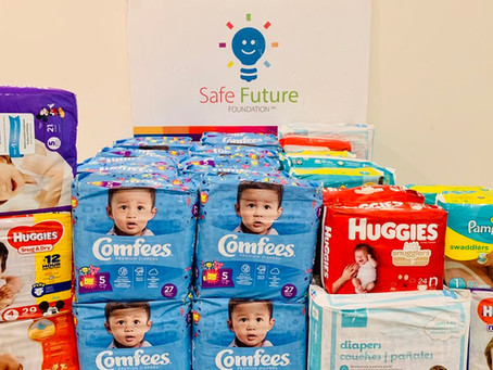 Donate diapers to local babies during National Diaper Need Awareness Week