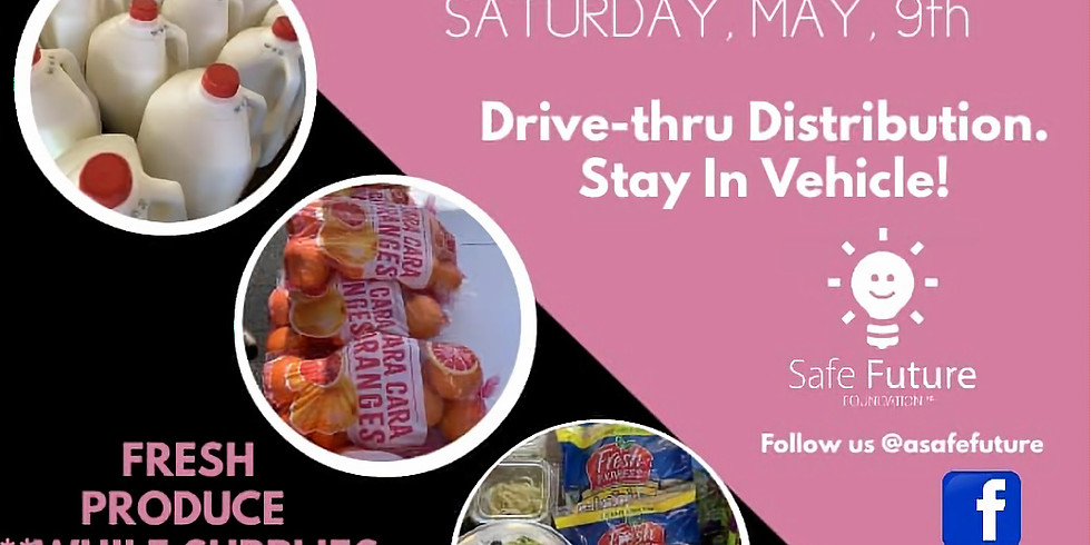 Free Food Giveaway. Drive-thru Pickup!