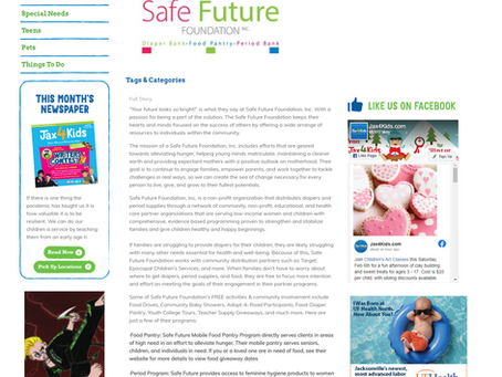 Jax4Kids Highlight Safe Future Foundation