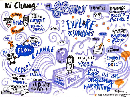 Life as an Ongoing Narrative: The Art of Flow