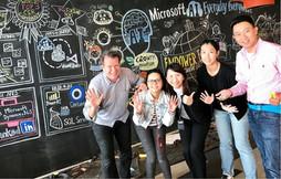 Tim at Microsoft Hong Kong