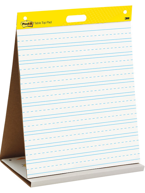 Post-it® Easel Pad -Table Top Lined