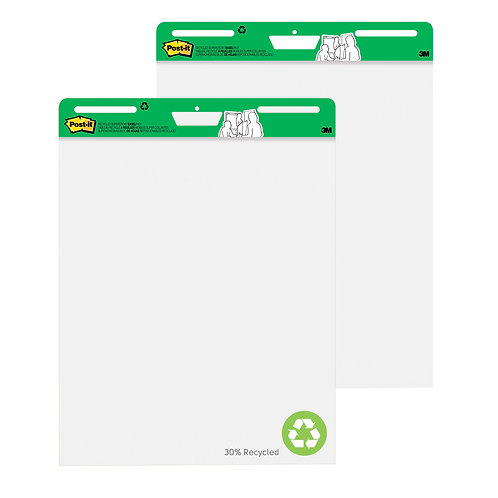 Post-it® Easel Pad - Recycled