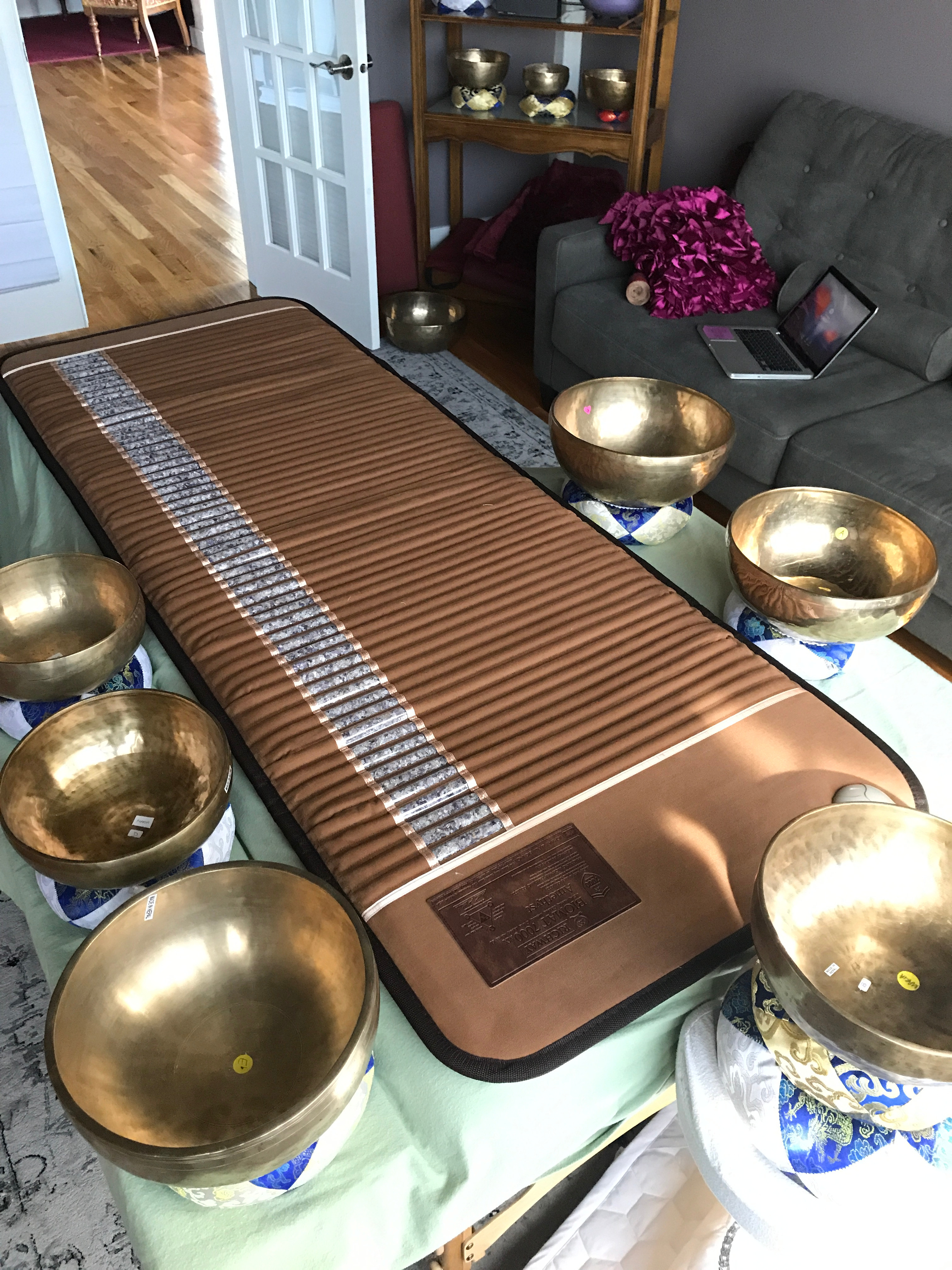 Singing Bowl Sound Therapy