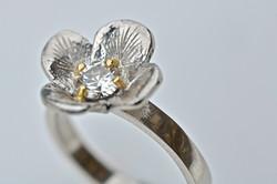 Platinum, 18K Yellow Gold & Diamond
