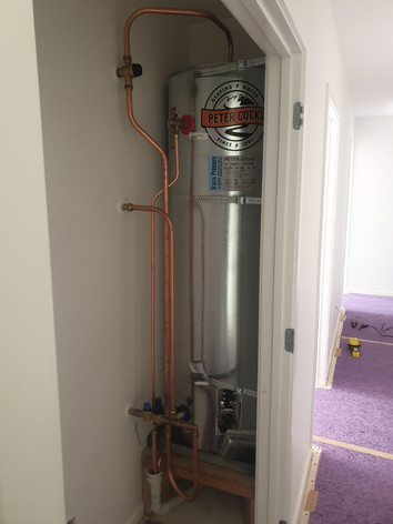 Hot Water Cylinders Installed