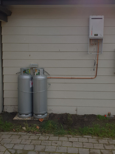 Gas Water Heating Install