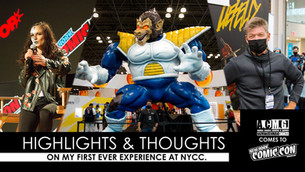 NYCC REVIEW: MY FIRST TIME