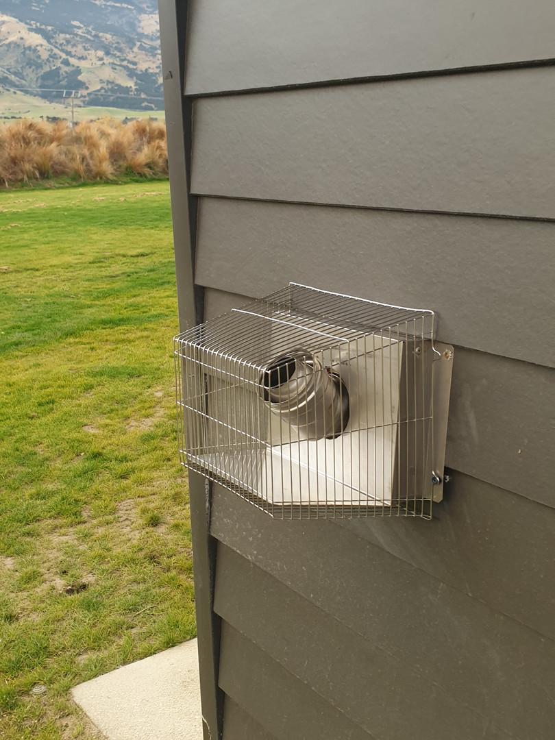 Exterior Venting for Boiler System
