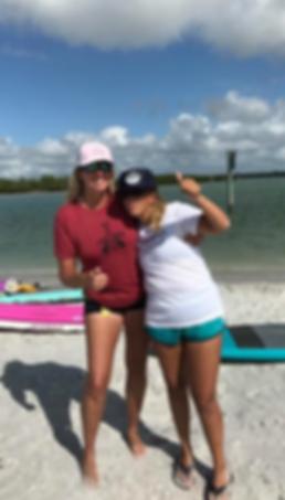 friends, fun, beach, paddleboard