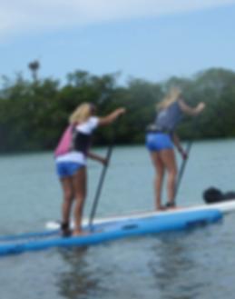 disability paddle instructor, paddleboard, kayak