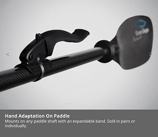 hand adaptation, adaptive paddle, kayak, tours, special needs