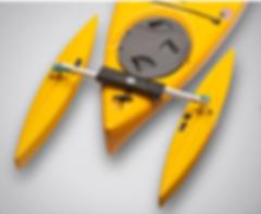 kayak stabilizer, kayak outrigger, adaptive paddle equipment, special needs