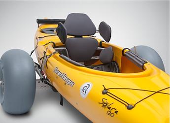 kayak chariot, adaptive paddle, kayak