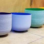 Crystal Singing Bowl - Group