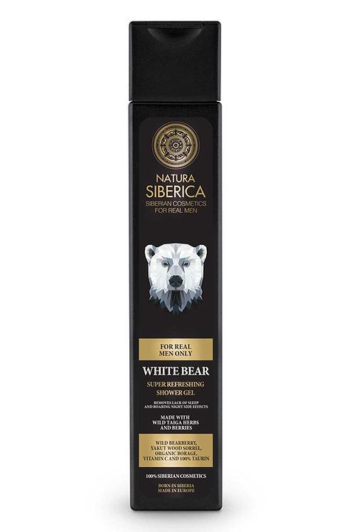 Супер бодрящий гель для душа «Белый медведь»